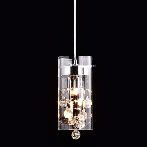Claxy Ecopower Lighting Glass Crystal Pendant Lighting Chandelier And Pendant Lighting