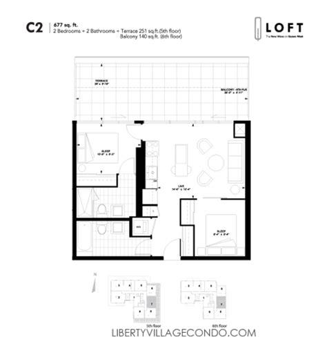two bedroom loft floor plans q lofts 1205 queen st w liberty village condo