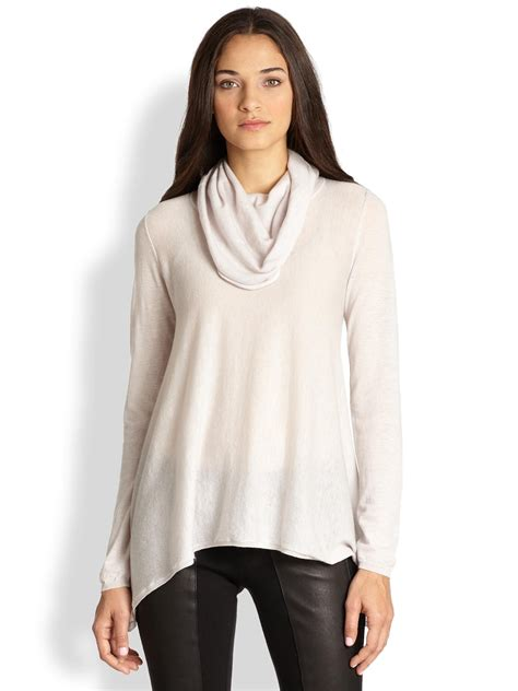draped cowl neck sweater the best 28 images of draped cowl neck sweater themogan