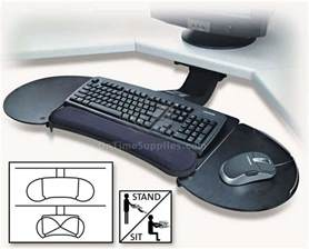kmw60044 articulating keyboard tray by kensington