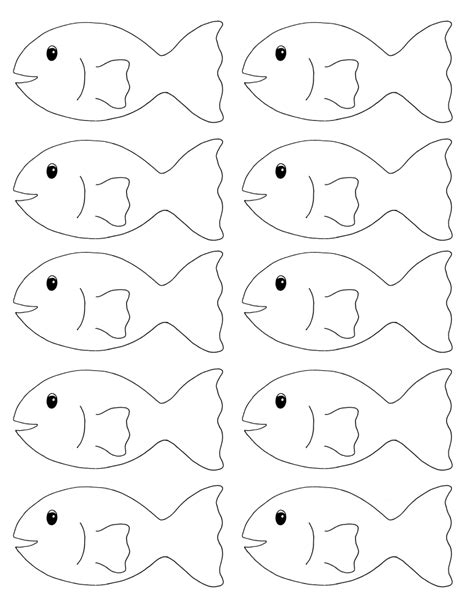 search results for blank fish template worksheet