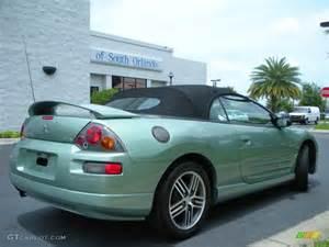 Mitsubishi Eclipse Colors 2003 Alloy Green Pearl Mitsubishi Eclipse Spyder Gts