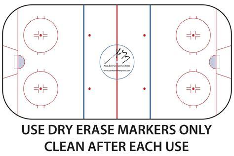 rink diagram hockey rink coaches board bar enterprise