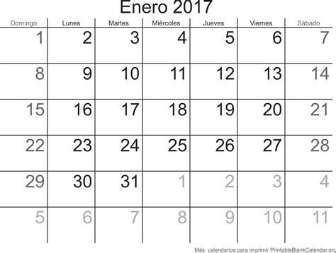 Descargar Calendario Enero 2017 Enero 2017 Calendario Para Imprimir Calendarios Para
