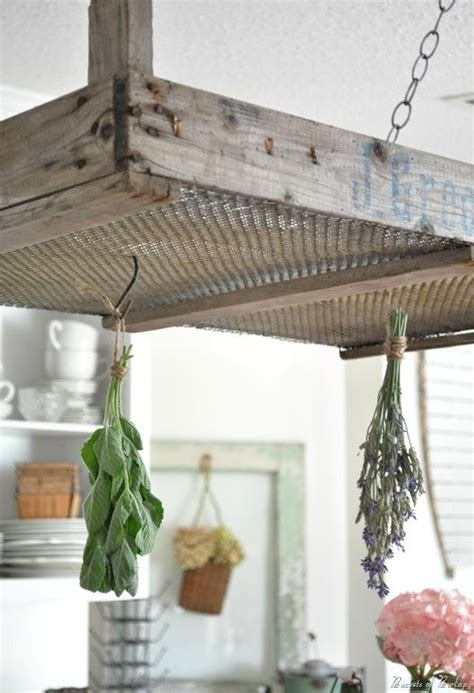 diy spice drying rack olde crate as an herb drying rack diy projects