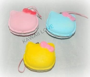 Squishy Murah Mini Rainbow Cone kawaii macaroon squishy with bow squishies