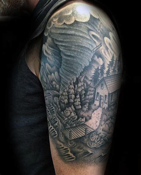 tornado tattoo designs 40 tornado designs for cool cyclone ink ideas