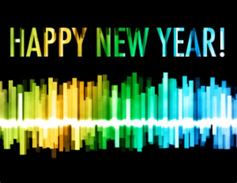 song happy new year happy new year through from the spectrum staff