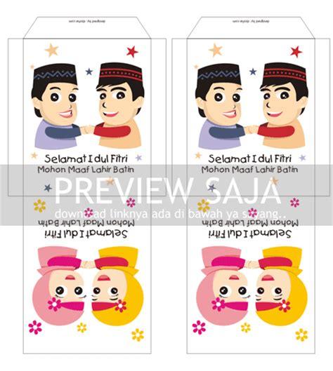 desain lop download desain lop lebaran tinggal print design kartun lucu lop