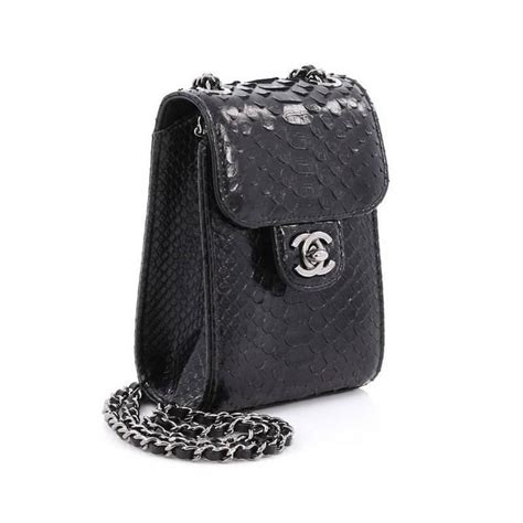 Chanel Wallet Mini chanel wallet on chain python mini at 1stdibs