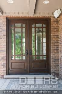Beveled Glass Front Entry Doors Wooden Door With Beveled Glass And Prairie Grills Custom Wood Front Entry Doors Door From