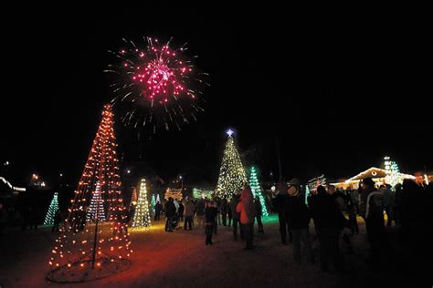what tree holds lights better kannapolis holds tree lighting and festival of the lights salisbury post salisbury