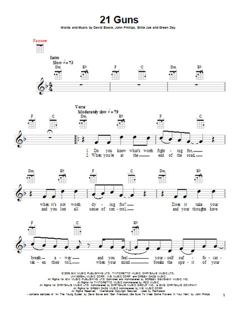 guitar tutorial 21 guns 21 guns by green day ukulele guitar instructor