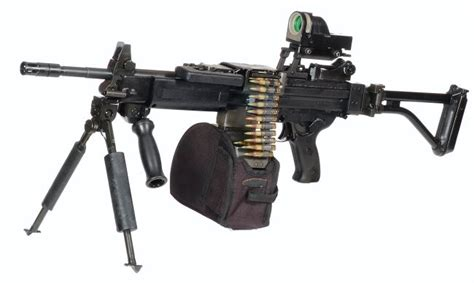 machine gun negev machine gun with