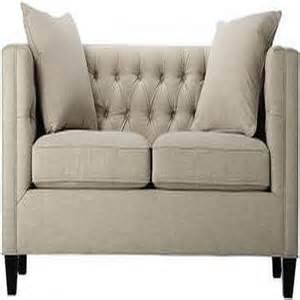 Haute House Bella Gigi Grey Sofa Lakewood Tufted Sofa