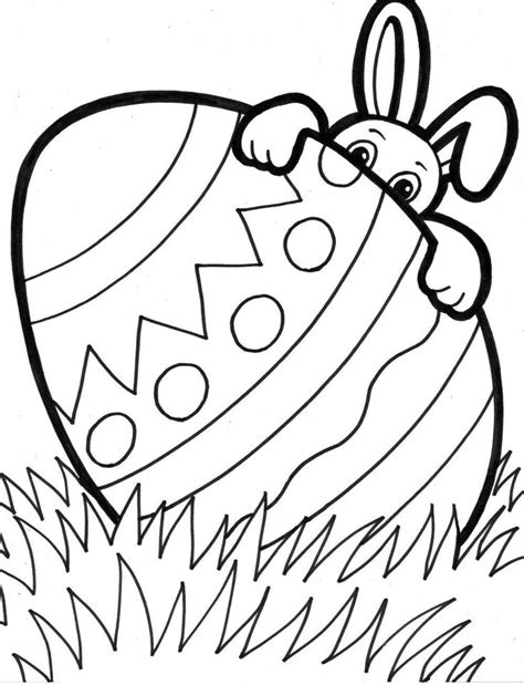 25 Unique Easter Coloring Pages Ideas On Pinterest Color Pages For