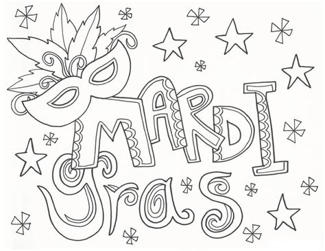 celebrate mardi gras with a free coloring page angry free printable mardi gras coloring pages