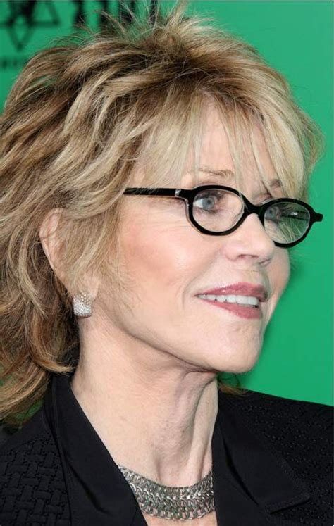 Hairstyles For Glasses by Hairstyles For 60 With Glasses Hairstyles