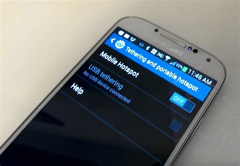 on galaxy s4 how to use the samsung galaxy s4 as a personal hotspot