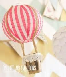Handmade Air Balloon Decorations by How To Make A Papier Mache Air Balloon Craft