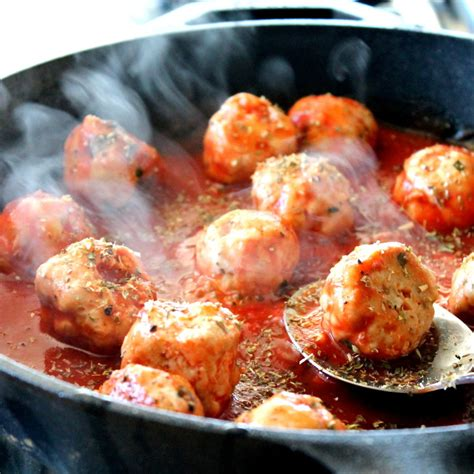 turkey meatballs with quick and spicy tomato sauce and paleo archives page 5 of 6 ambitious kitchen