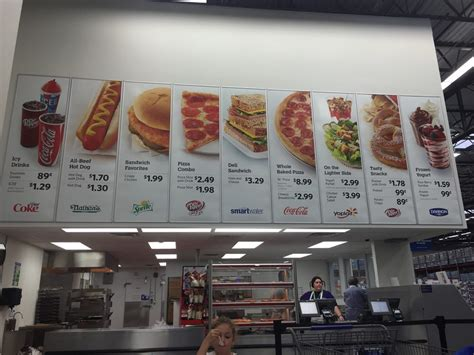 sams club food food prices in cafe yelp