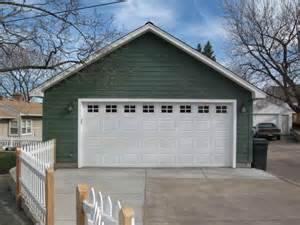 Detached Garage Designs Ideas White Door Detached 2 Car Garage Plans Detached 2