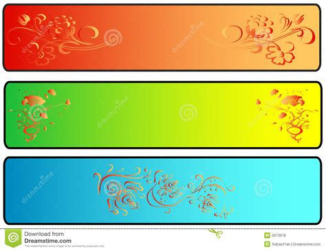 banner images site banners royalty free stock photos image 2973618