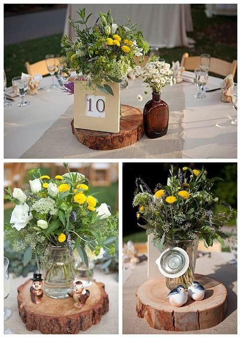 backyard wedding ideas wedding centerpiece ideas