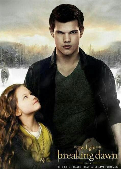 jacob black and renesmee cullen twilight saga wiki wikia renesmee cullen jacob black in quot the twilight saga