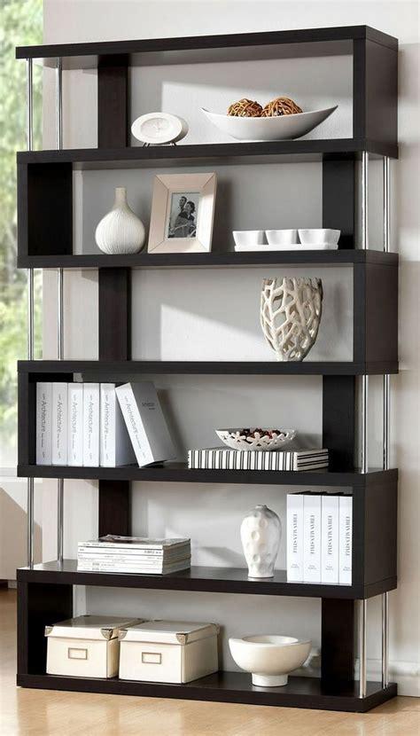 estante wenge barnes dark wenge 6 shelf modern bookcase check