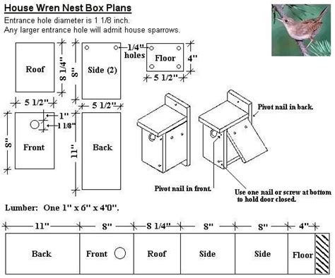 wren house plans wren nest box out of a 1x6 board pullin weeds pinterest house plans design