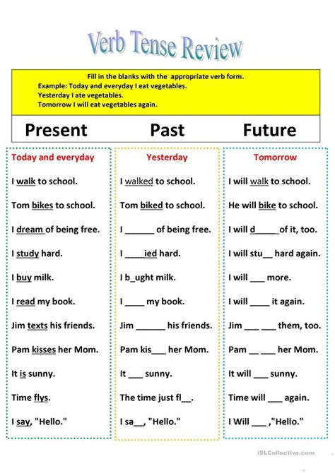 present tense to past tense worksheet verb to be future tense exercises teaching worksheets future tenseaction verbs past