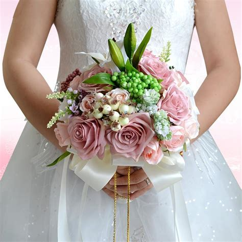 Wedding Bouquet Accessories by Beautiful Wedding Bouquet Assorted Roses Bouquet