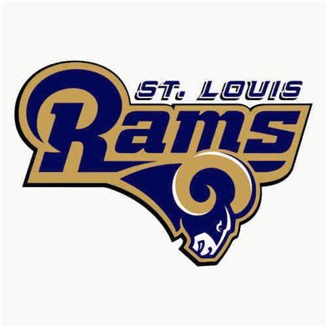 st louis rams c 14 st louis rams script logo decal sticker version 1 stk