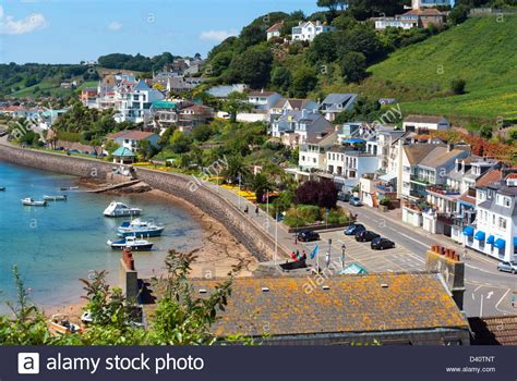 buying a house in jersey channel islands view over the village of gorey jersey channel islands stock photo royalty free