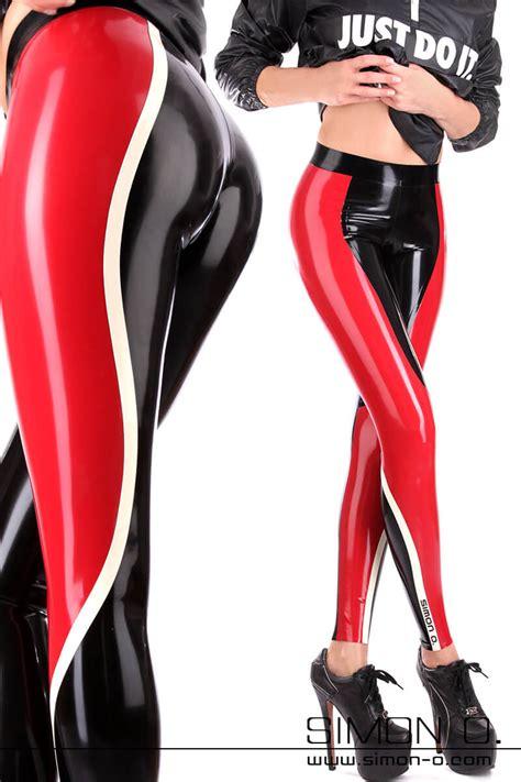 women latex leggings individually manufactured  simon