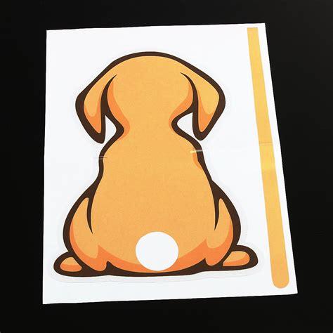 Aufkleber F R Auto Hund by Aufkleber Sticker Gelb Hund Tier F 252 R Auto Heckscheibe Und