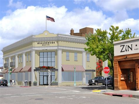 San Anselmo Post Office by Healdsburg Co Gets Sign For Post Office Site