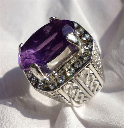 Kecubung Ring 17 harga batu permata purple batu mulia murah berkualitas