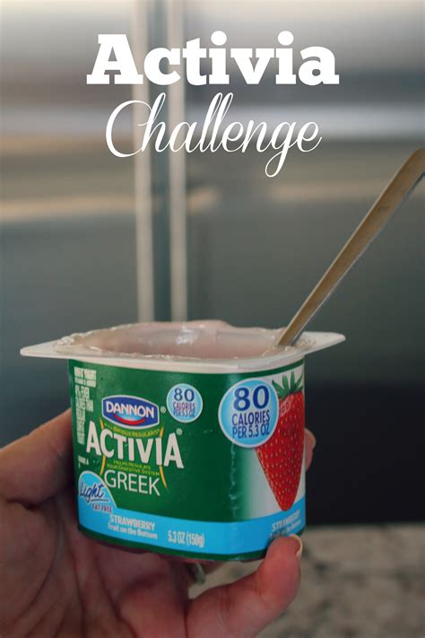 activa challenge update on my activia challenge it s a lovely