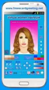 virtual hairstyles app android app virtual women hairstyle