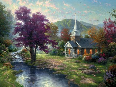 living water landscape streams of living water limited edition the