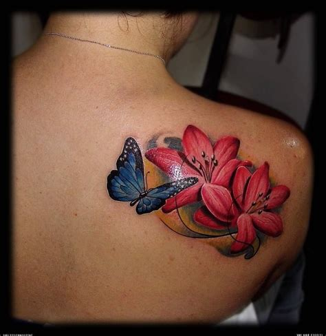 cool butterfly tattoos tattoos cool lotus flower and butterfly butterfly