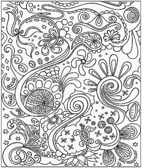 detailed abstract coloring pages mandala coloring pages for adults printable colorings net