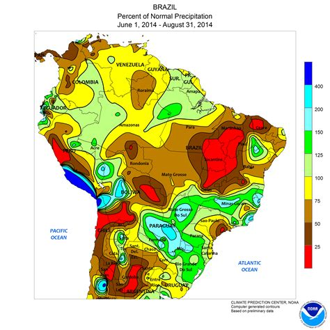 south america drought map sao paulo drought robertscribbler