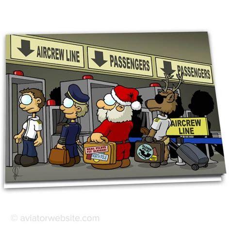 christmas airplane jokes aviation card quot santa security quot 10 cards aviatorwebsite