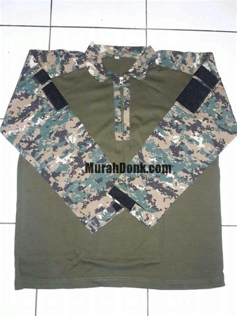 baju kaos battle dress loreng army marpat