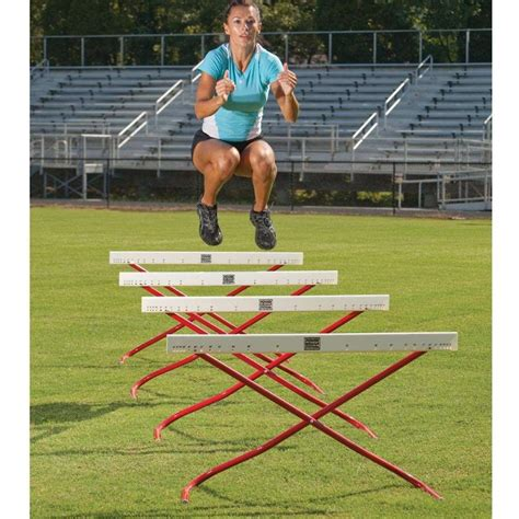 hurdles basketball track and field fitness goals agility and quickness