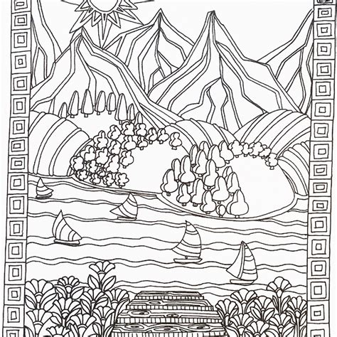 zen coloring pages pdf the calm coloring book designs from lacy mucklows colour
